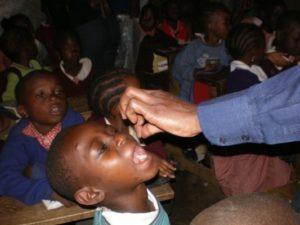 vaccinazioni parassitosi AICO Kenya