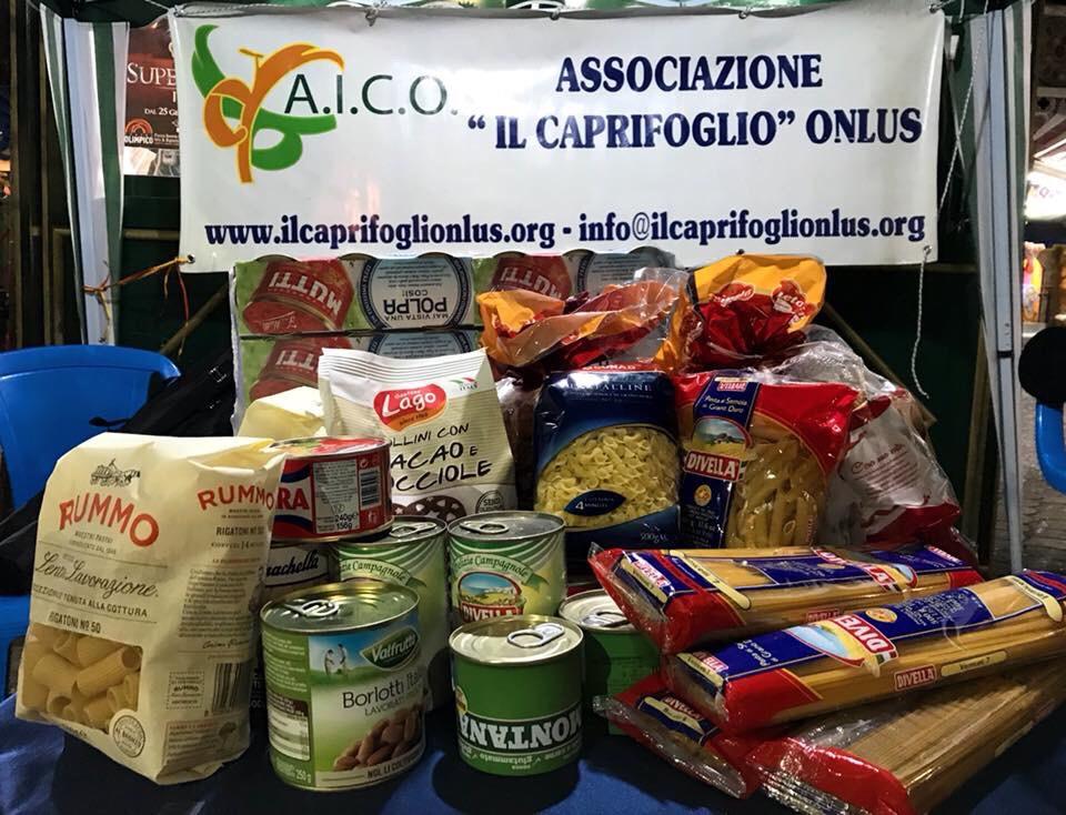 Raccolta alimentare AICO