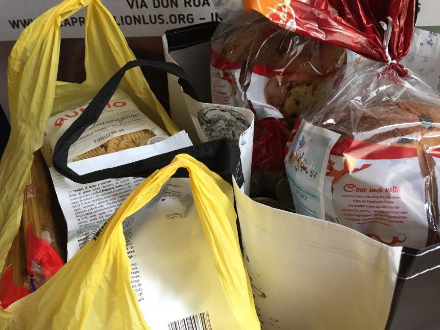 seconda consegna alimentare AICO